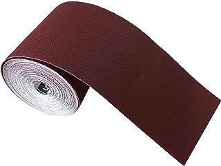 SBS Papel de lija Rollo 115 mm x 25 m Grano 60 /Óxido de aluminio rollo