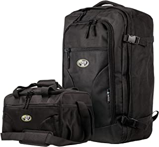 Extreme Pak 22-Inch Carry-On Bag/Backpack with Additional 15-Inch Tote, Lightweight and Compact Travel Backpack, Carry-On Luggage Sized for Airline Travel