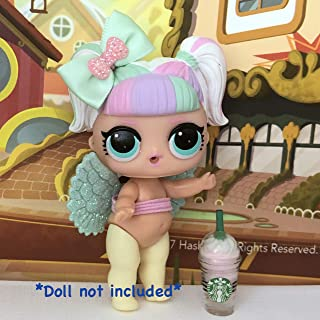 LOL Accessories 3PC Lot Angel Fairy Wings Starbucks Bow DOLL NOT INCLUDED …