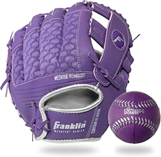 Franklin Sports Teeball Glove and Ball Set – Meshtek Teeball Glove and Foam..