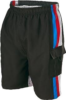 Phantom Aquatics Seaboard Surf Wear Mens Swim Trunks, Black, Large