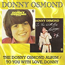 Donny Osmond Album/To You With Love, Donny