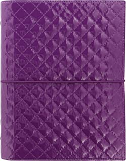 Filofax A5 Domino Luxe Organiser - Purple