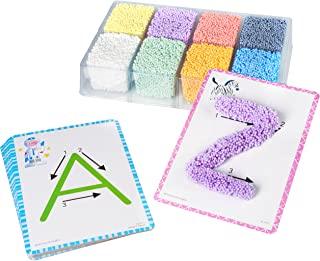 Educational Insights Playfoam Shape & Learn Alphabet Set | Non-Toxic, Never Dries Out | Preschoolers Practice Letter Recognition & Formation| Perfect for Ages 3 and up
