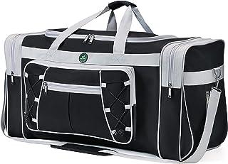 Reisetasche für Frauen & Männer Faltbare Weekender-Reisetasche 65 cm Leichtes Oxford-Tuch Extra großes Sportgepäck Riesige...