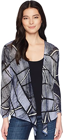 NIC+ZOE Petite High Tide Four-Way Cardy