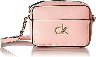 Calvin Klein Damen Camera Bag W Kameratasche mit Pckt, violett, 28 Inches, Extra-Large