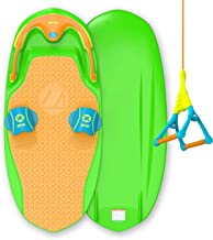 ZUP You Got This 2.0 Board and 1.5 Handle Combo, All-in-One Kneeboard, Wakeboard, Wakeskate, and Wakesurf Board for All Ages