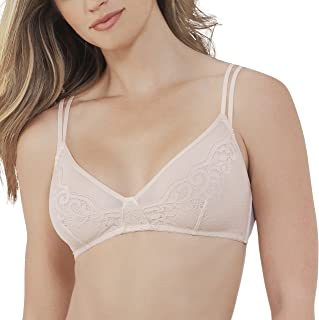 99d294eed VASSARETTE Women s Lace and Layers Unlined Wirefree Bra 77020