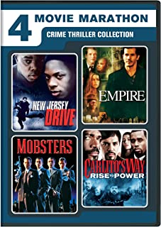 4-Movie Marathon: Crime Thriller Collection (New Jersey Drive / Empire / Mobsters / Carlito`s Way: Rise to Power)
