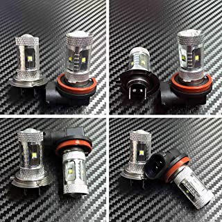 High Power HID LED Headlight H7 H9 Bulbs Lights for Suzuki GSXR 1000 2007-2008