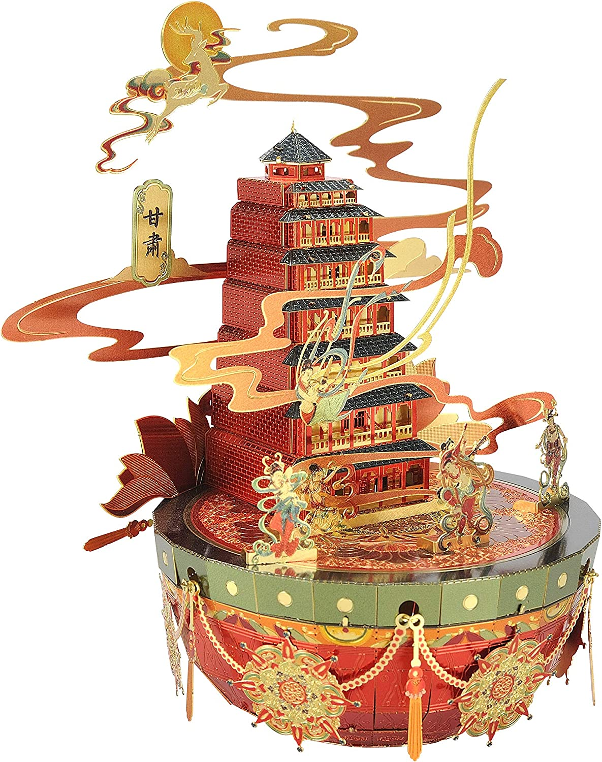 Microworld Dunhuang We OFFer at Denver Mall cheap prices Mogao Caves 3D Laser Metal Cut Jigsaw Puzzle