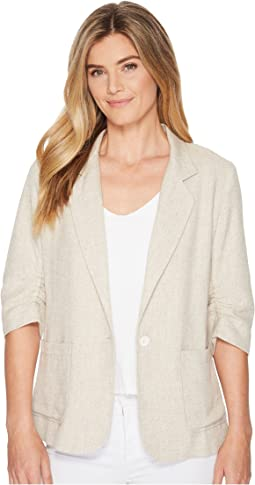 Karen Kane - Ruched Sleeve Jacket