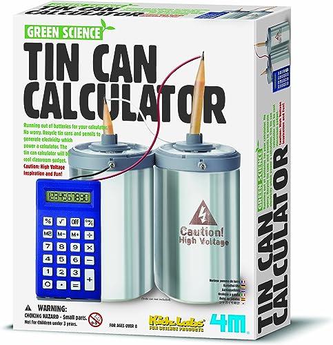 4m Tin Can Calculatrice