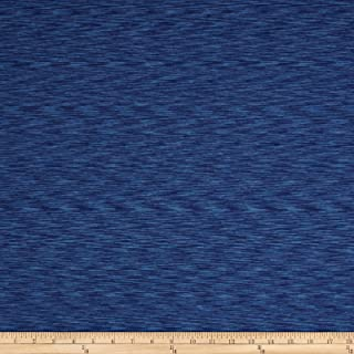 Pine Crest Fabrics 0539033 Strata Athletic Knit Blue/Royal Fabric by The Yard