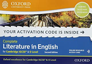 Complete Literature in English for Cambridge IGCSE & O Level: Online Student Book