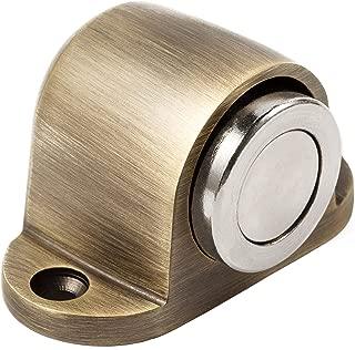 Royal H&H Door Stop Magnetic Heavy Duty Doorstop Floor for Home Office Hotel Solid Metal Stainless Steel with Round Catch Screw Mount Kit (Antique Bronze)