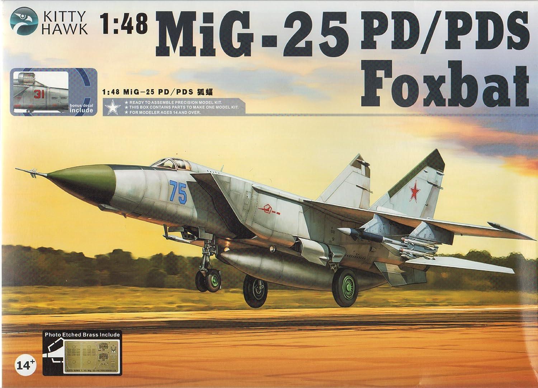 Kitty Hawk KTH80119 1:48 MiG-25PD New product!! KIT PDS Model Foxbat Washington Mall