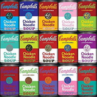TDC Games World's Most Difficult Jigsaw Puzzle Campbell's Souper Hard Double Sided Puzzle - 15 in