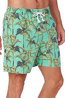 INGEAR Performance 男士速干 SPF50+ 游泳裤水短裤泳装沙滩短裤带网状内衬