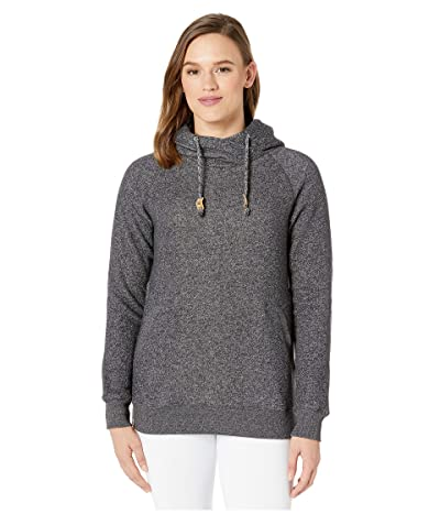 tentree Burney Hoodie (Meteorite Black Marled) Women
