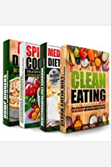 HEALTHY COOKING: Clean Eating, Mediterranean Diet, My Spiralized Cookbook and Dump Dinners Box Set: Over 100 Delicious and Healthy Recipes For You and Your Family Kindle Edition