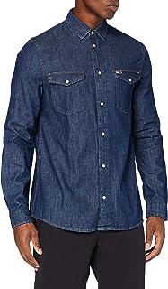 Tommy Hilfiger TJM Western Denim Shirt Camisa para Hombre