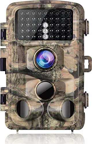 【2020 Upgrade】Campark Trail Camera-Waterproof 16MP 1080P Game Hunting Scouting Cam with 3 Infrared Sensors for Wildli...