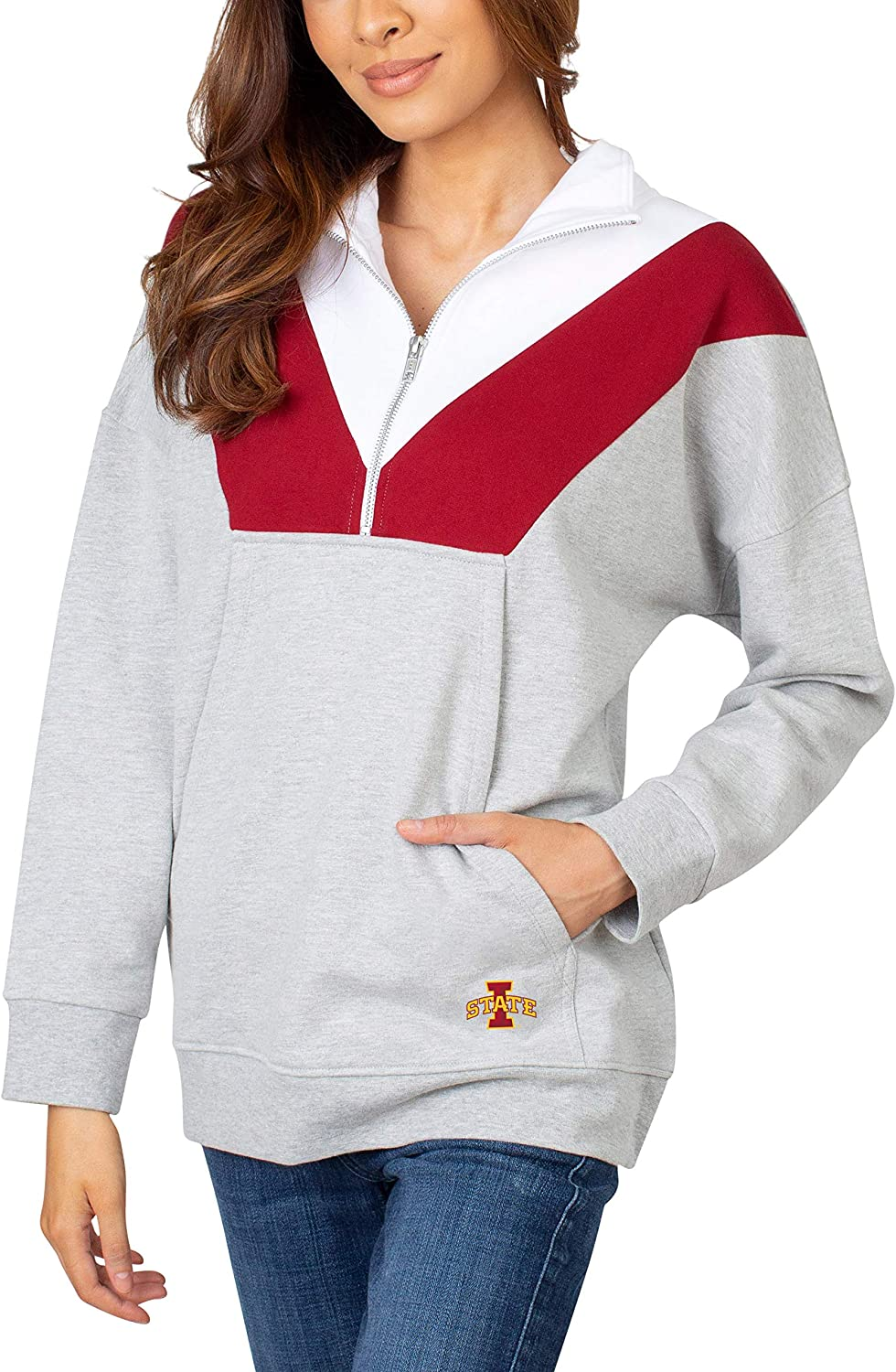 Cheap mail Special price order shopping UG Apparel Women's Colorblock 1 Zip 4