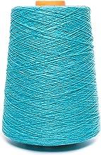 Lusie's Linen LinnenGaren - 100% Linnen - 0.53kg - Voor haken, weven, breien, borduren - Turkoois (3 plooien)