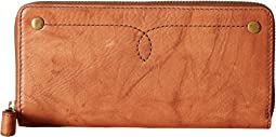 Frye - Campus Rivet Zip Wallet