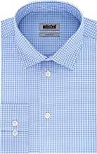 Kenneth Cole Unlisted Mens Dress Shirt Regular Fit Check