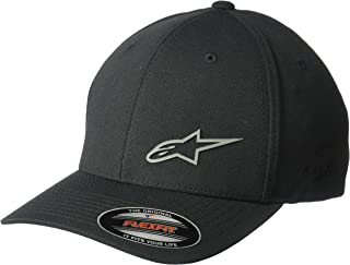 Alpinestars Men's Logo Flexfit Tech Hat, Cuvred Bill Structured Crown