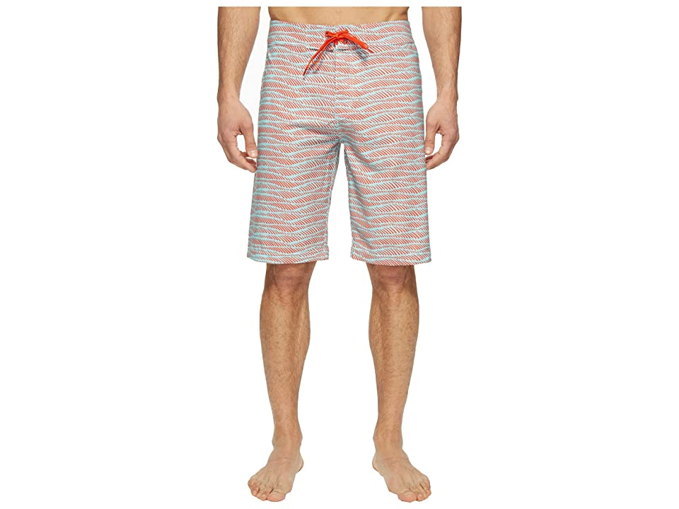 Prana Sediment Short (Surf Blue Current) Men