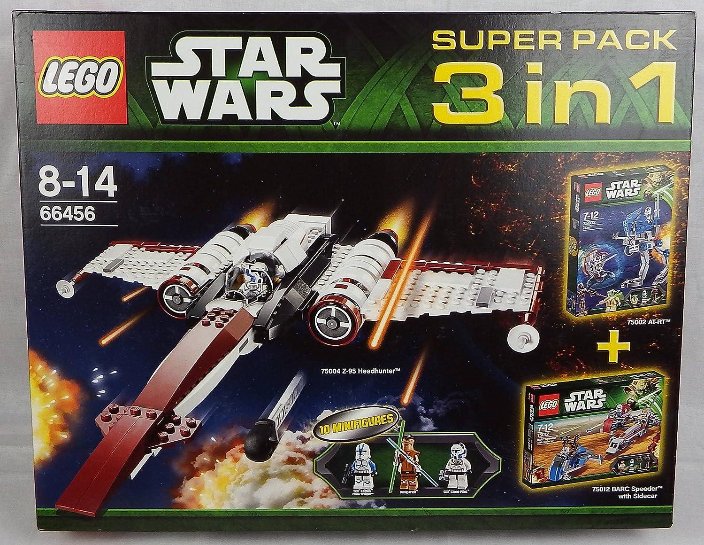 LEGO Star Wars 66456 - Super Pack 3 in 1 B00G123RTM Ruf zuerst     Eleganter Stil
