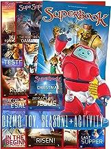 Superbook Gizmo Toy, Season 1 Full Set (13 Episodes) + Activity book