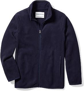 Amazon Essentials Boys' Full-Zip Polar Fleece Jacket