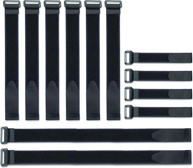 VELCRO Brand Bulk Pack 12 Reusable Fastening Cable Straps