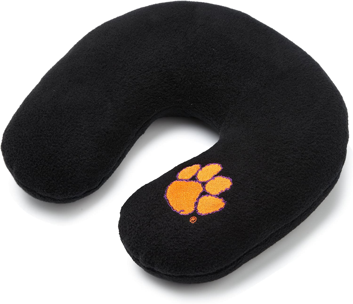 NCAA Clemson security Tigers Embroidered U-Shaped Pill favorite Travel Fleece Neck