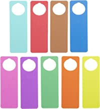 Darice Foam Door Hangers 9/Pkg-Assorted Colors