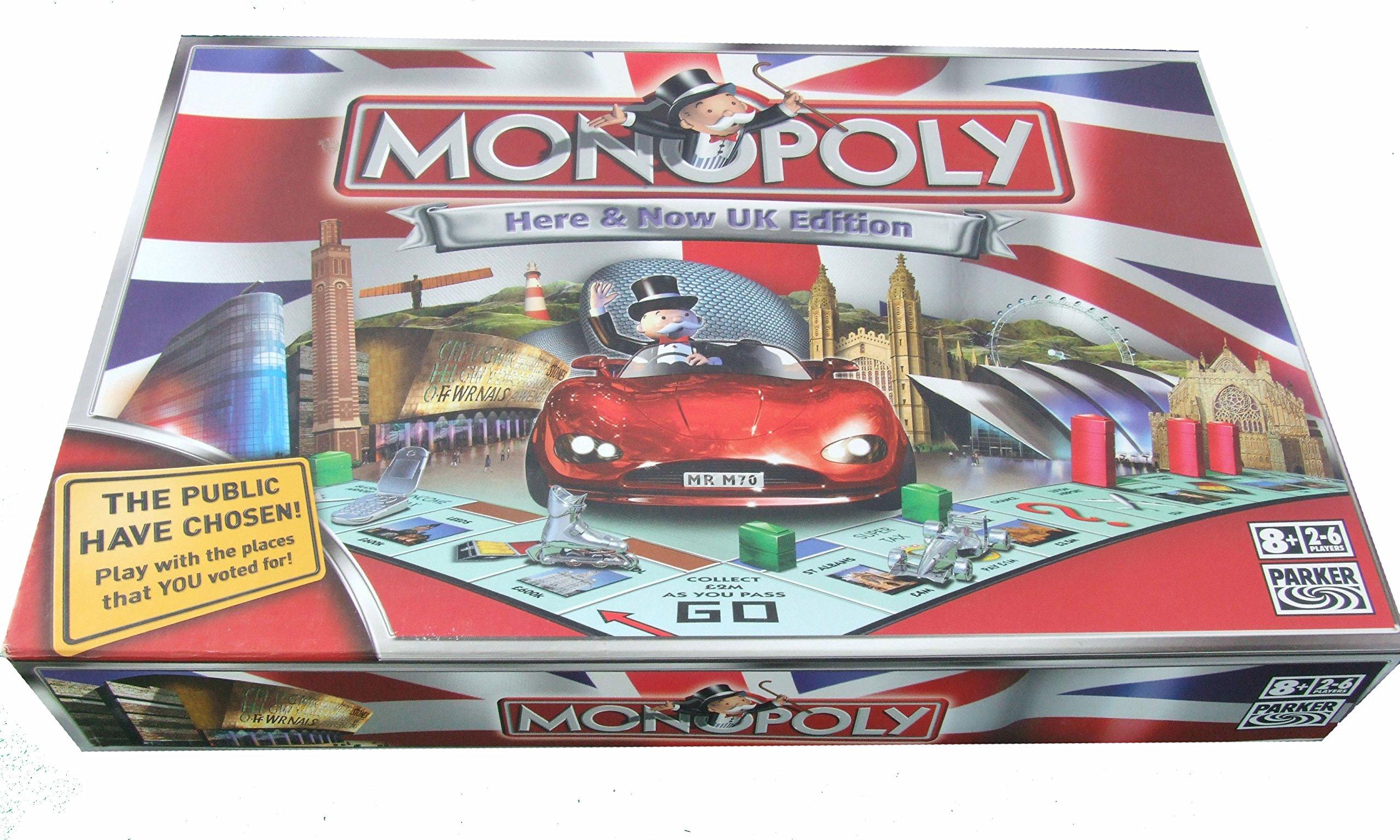 Hasbro Gaming- Monopoly (versión en inglés): Amazon.es: Juguetes y juegos