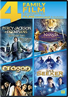Percy Jackson & The Olympians: The Lightning Thief / The Chronicles Of Narnia: The Voyage Of The Dawn Treader / Eragon / The Seeker 4 Family Film Favourites
