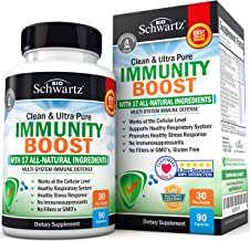 Immunity Boost Supplement with Elderberry, Vitamin C, Echinacea & Zinc - Once Daily Multi-System Immune Defense - Dr. Appr...