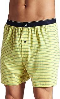 Nautica Men's Nicholas Stripe Yarn Dyed Knit Boxer Brief