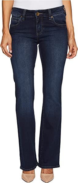 KUT from the Kloth - Petite Natalie High-Rise Bootcut in Beneficial/Euro