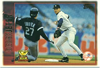 1997 Topps Derek Jeter #13 All-Star Rookie Future HOF New York Yankees - Baseball Cards