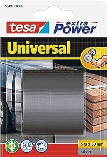 Tesa 56490-00006-01 Xp Universale Nastro, 5 m:50 mm, Grigio, 5m x 50mm