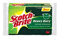 Scotch-Brite Heavy Duty Scrub Sponge, 3-Sponges