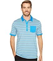PUMA Golf - Tailored Pocket Stripe Polo