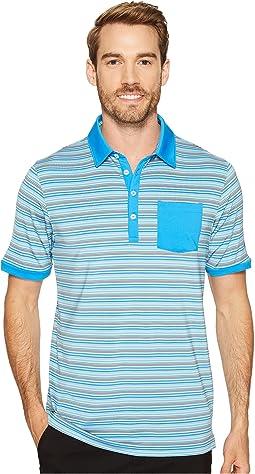 Tailored Pocket Stripe Polo